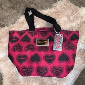 Betsy Johnson Betseyville Heart Tote Bag
